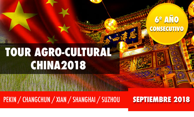 TOUR AGRO CULTURAL CHINA 2018